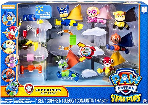 Paw Patrol Super Pups Gift Pack | No batteries required