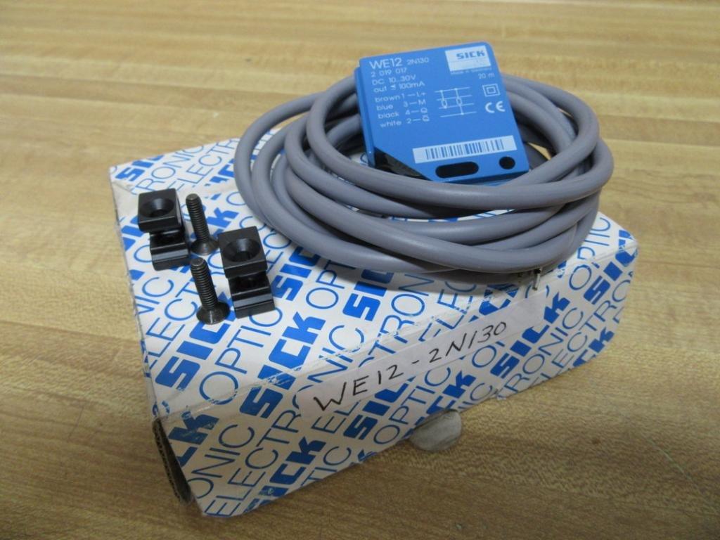 Sick Optic Electronic WE12-2N130 Photoelectric Scensor WE122N130 by SICK OPTIC ELECTRONIC