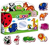 Refrigerator Magnets for Kids ZOO Animals 29 pcs- Fridge Magnets for Toddlers- Baby Magnets- Animal Magnets set- Kids Fridge Magnets- Toddler Magnets- Magnetic animals- Kid magnets- Kids magnets