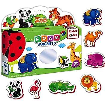 Amazon.com: Refrigerator magnets for kids ZOO ANIMALS - 29