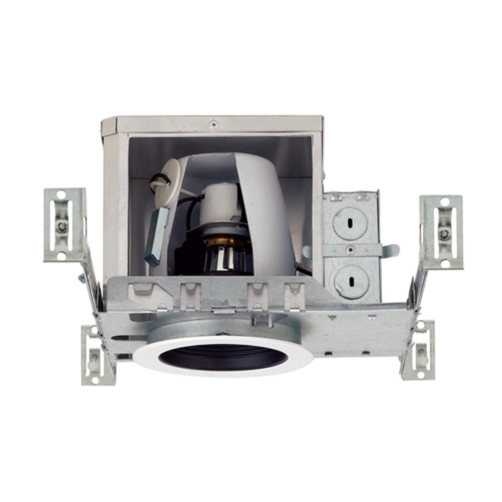 NICOR Lighting 4-Inch IC-Rated Recessed Universal Airtight Recessed New Construction Housing (19002A)