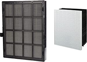 Genuine Winix 114190 Replacement Filter B for 9500, U300 Air Purifiers,black & Genuine Winix 115115 Replacement Filter A for C535, 5300-2, P300, 5300