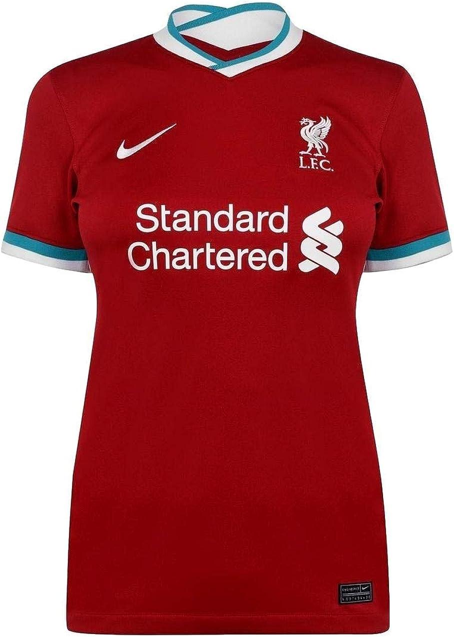 Liverpool FC Home Women's Stadium Soccer Jersey- 2020/21