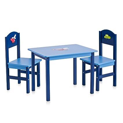 Zeller 13472 Boys - Juego de muebles infantiles de tablero DM (3 ...