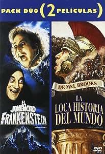 El Jovencito Frankenstein + La Loca Historia del Mundo (Duo) [DVD]