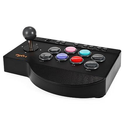 marchi riconosciuti a buon mercato nuovo concetto Arcade Stick, MoPei PXN Arcade Fight Stick Joystick Kit per PS4 ...
