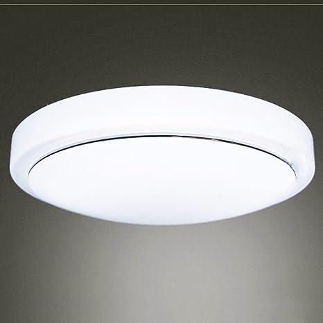 Luz de techo LED Luz Lámpara de techo redonda dormitorios ...