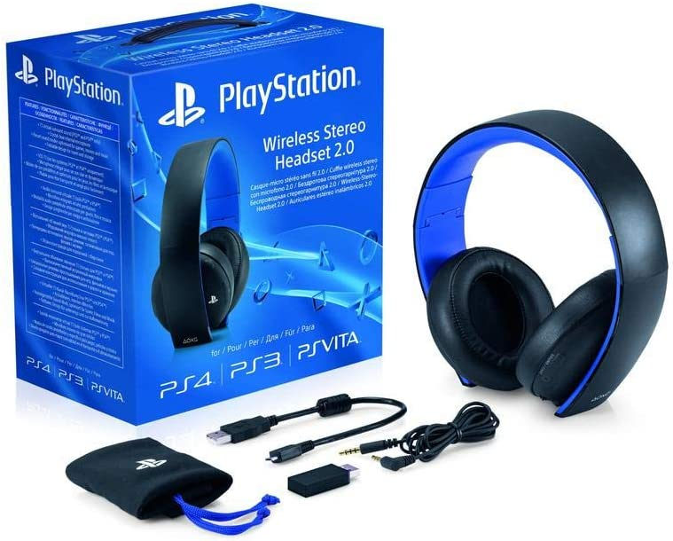 Sony PlayStation Wireless Stereo Headset 2.0 Black (PS4