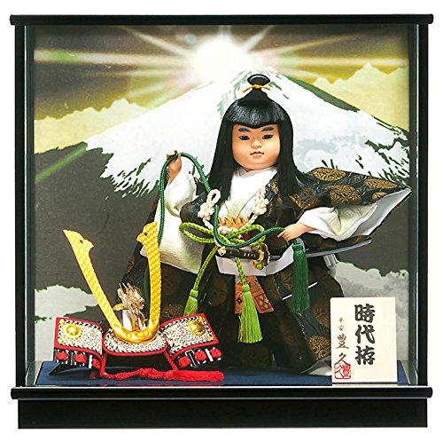 五月人形 豊久 武者人形 ケース飾り 時代拵 7号 h315-mo-530653 GD-238 B06W2KCQXC