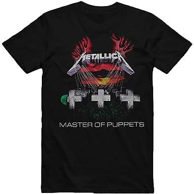 Bravado - Camiseta - Unisex de color Negro de talla Large - Metallica - Master Of Puppets (Camiseta) Large: Amazon.es: Ropa y accesorios