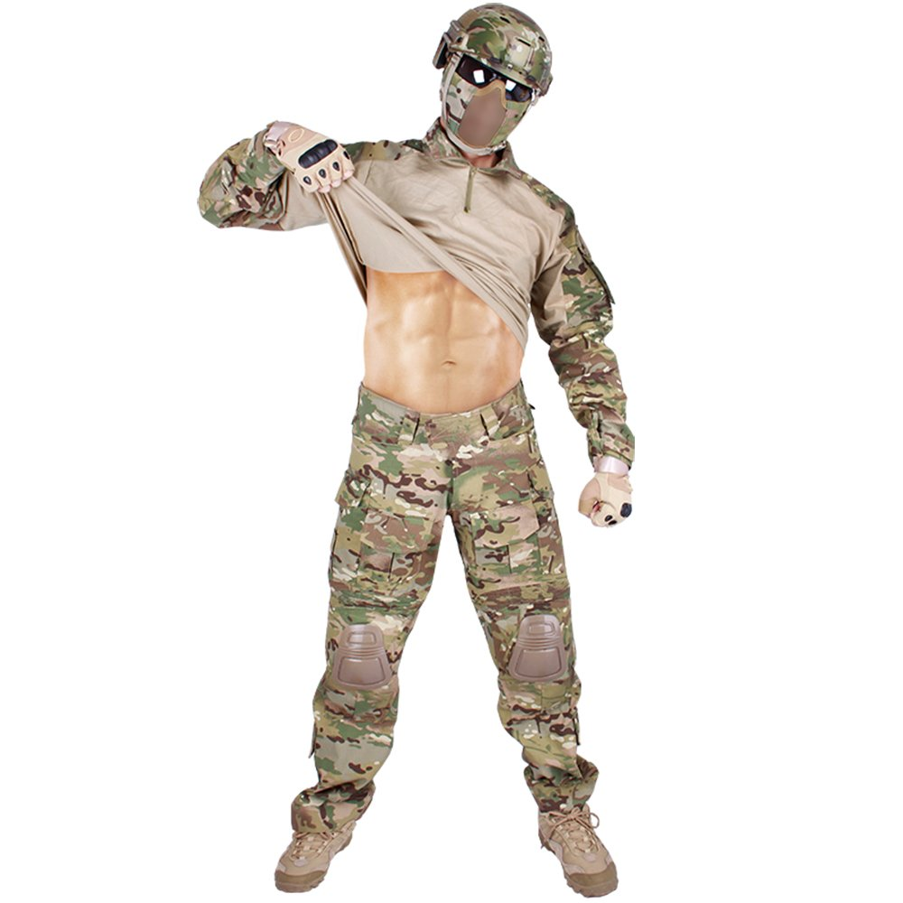 idogear Hombres G3 Asalto conjunto uniforme de combate con ...