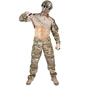 Work Wear & Uniforms Search For Flights Tactical Military Combat Uniform Multicam Shirt Pants Elbow Us Army Military Uniform Camouflage Suit Hunting Clothes Novelty & Special Use