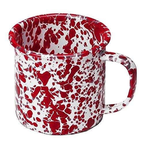 Enamelware Coffee Mug - Red ()
