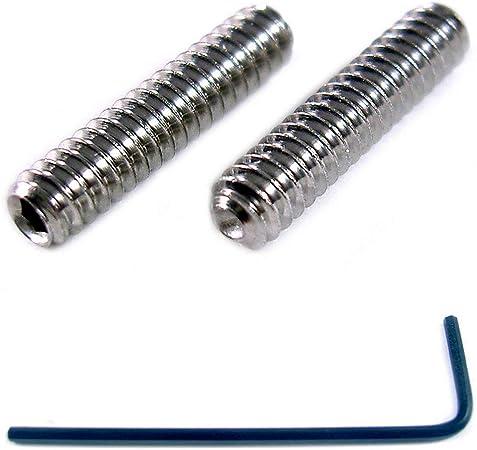 de cabeza tornillos M4 Llaves de acero inoxidable A2 4 mm 100 unidades X 12 mm