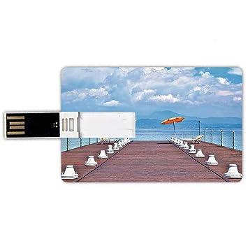 8GB Forma de Tarjeta de crédito de Unidades Flash USB Marina ...