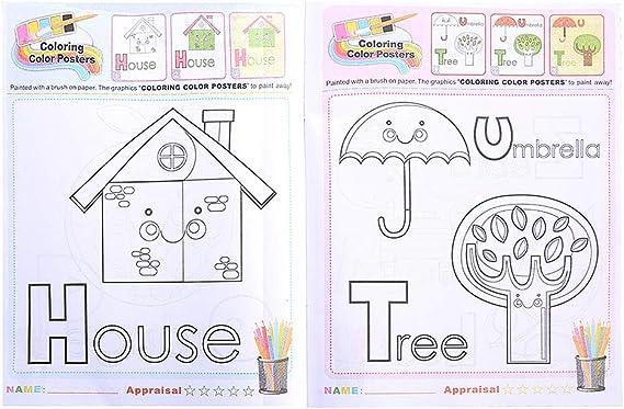 idioma espa/ñol no garantizado Runrain Creative Cuaderno de dibujo para ni/ños