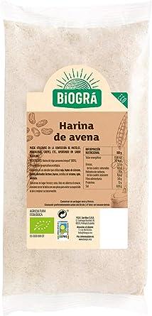 Biográ - Harina de Avena (500 g): Amazon.es: Alimentación y bebidas