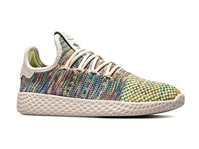 lace up in on feet images of pre order adidas Originals x Pharrell Williams PW Tennis HU Primeknit Schuhe Sneaker  CQ2631 NEU & OVP Gr. 38 2/3