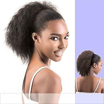 Amazon wrap drawstring 100 human hair ponytail extensions wrap drawstring 100 human hair ponytail extensions coarse curly afro kinky straight italian yaki curly top pmusecretfo Images