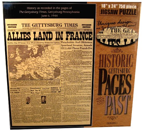 Pages from The Past Allies Land in France in June 6 1944 Jigsaw Puzzle (750-...