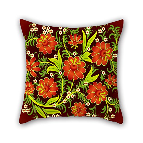 NICEPLW Throw Cushion Covers Of Flower 16 X