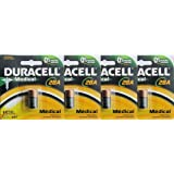 4 Pcs Duracell PX28A Alkaline Medical Battery 6V A544 4LR44 28A