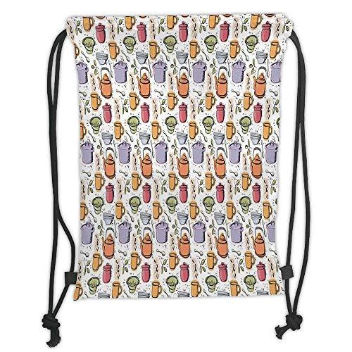 New Fashion Gym Drawstring Backpacks Bags,Kitchen Decor,Vintage Kitchenware