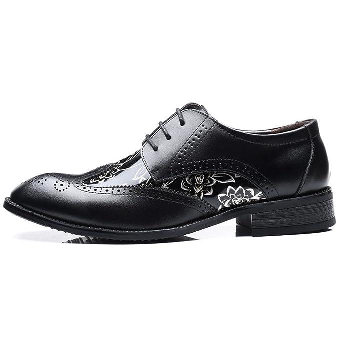 Amazon.com: senyee para hombre zapatos de vestir, clásico y ...