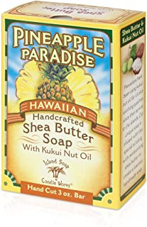 product image for Island Soap & Candle Works Handmade Shea Butter Soap, Pineapple Paradise