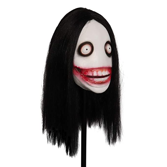 Máscara de látex para adultos Jeff The Killer Mask, espeluznante ...