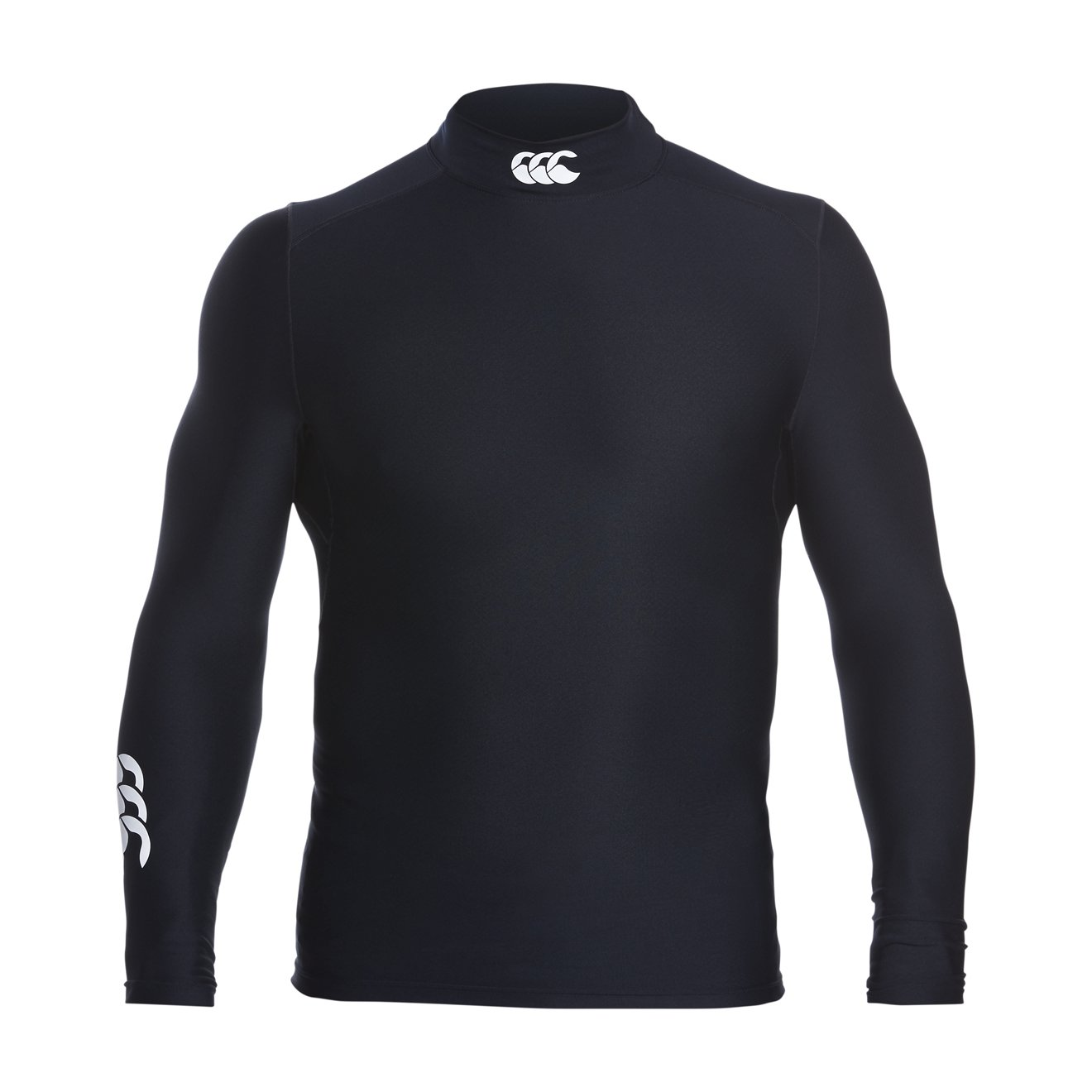 Canterbury Men's Thermoreg Turtle Neck Long Sleeve Base Layer Top
