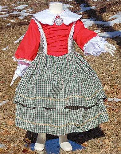 Girls 4-5 Historical dress by Fru Fru and Feathers Costumes & Gifts
