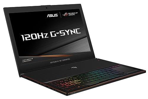 ASUS ROG Zephyrus GX501VI-GZ021T 15.6 Inch FHD 120 Hz Screen Gaming Laptop (Black) (Intel Core i7-7700HQ Processor, 16 GB RAM, 512 TB PCI-e SSD, NVidia GTX1080 8 GB Max-Q, Windows 10)