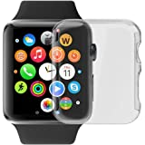 Apple Watch Case, LUVVITT [Super Easy] Built-in Screen Protector Snap-On Case Hard Cover for Apple Watch - 42 mm