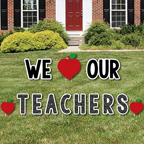 Big Dot Of Happiness Teacher Appreciation Back To School