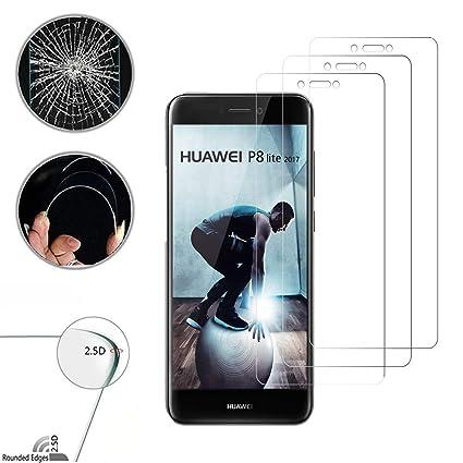 Loyiigo Protector de Pantalla para Huawei P8 Lite 2017 [3 Unidades ...