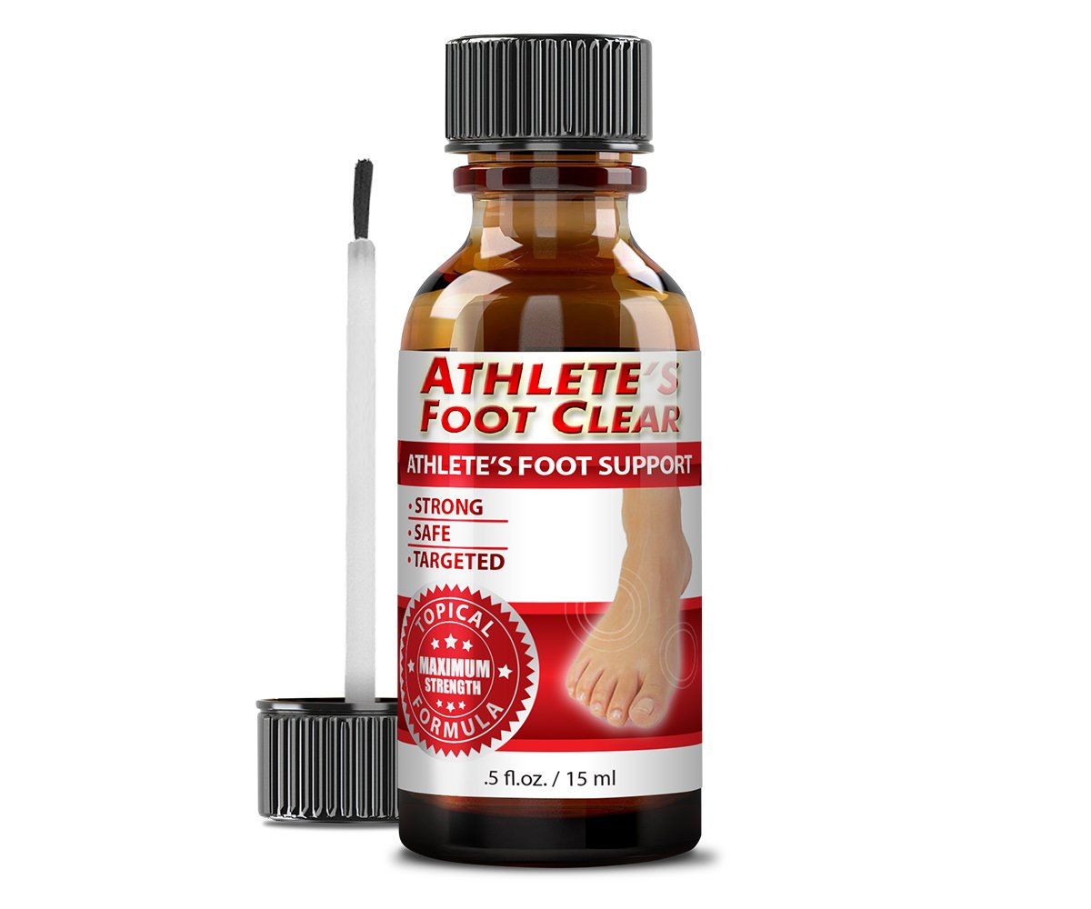 Athlete's Foot Clear - The Best Choice for Athlete's Foot Relief - 6 Bottles by Athlete's Foot Clear (Image #5)