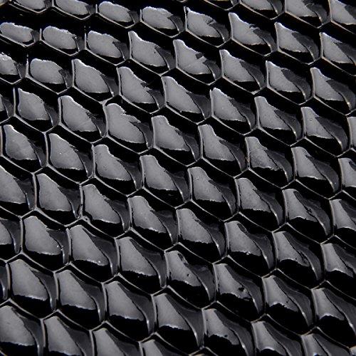 Diamantes Remaches Nuevos Bolsos Anillos Mano Negro Hombro Diagonal Paquete Style2