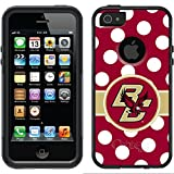 Coveroo Commuter Series Cell Phone Case for iPhone 5/5S - Boston College Polka Dots