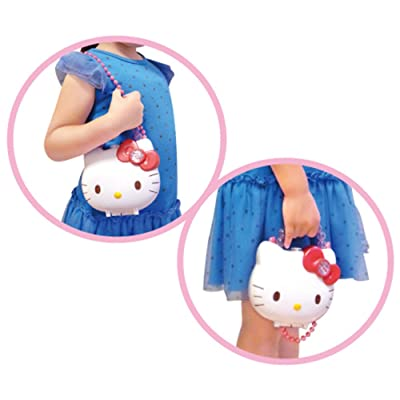 Hello Kitty Purse with Strap and Accessories from Japan: Toys & Games