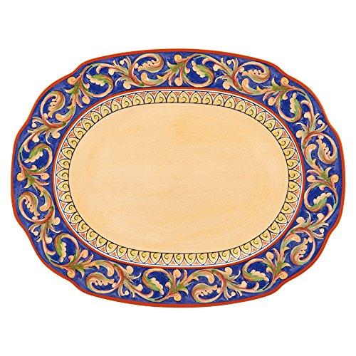 Pfaltzgraff Villa Della Luna Large Oval Platter (Pfaltzgraff Plates Oval)