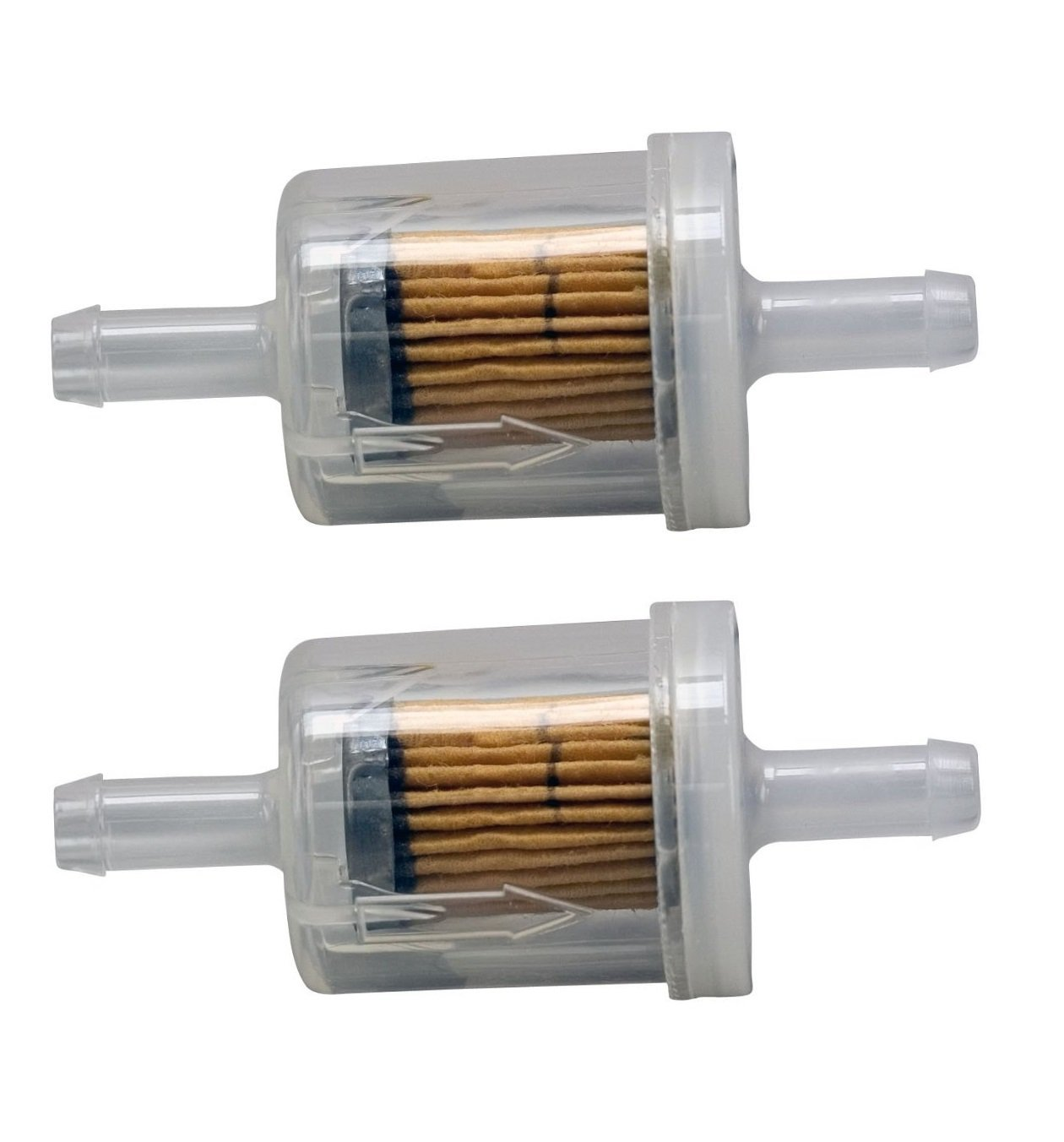Amazon.com: Briggs & Stratton Genuine OEM 691035 40 Micron Fuel Filter (2  Pack): Automotive