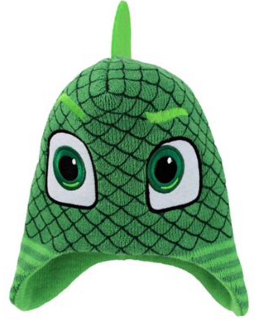 PJ MASKS Child Gekko Beanie Knit Hat - Green