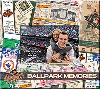 MLB Baltimore Orioles 8x8 Scrapbook Photo Album