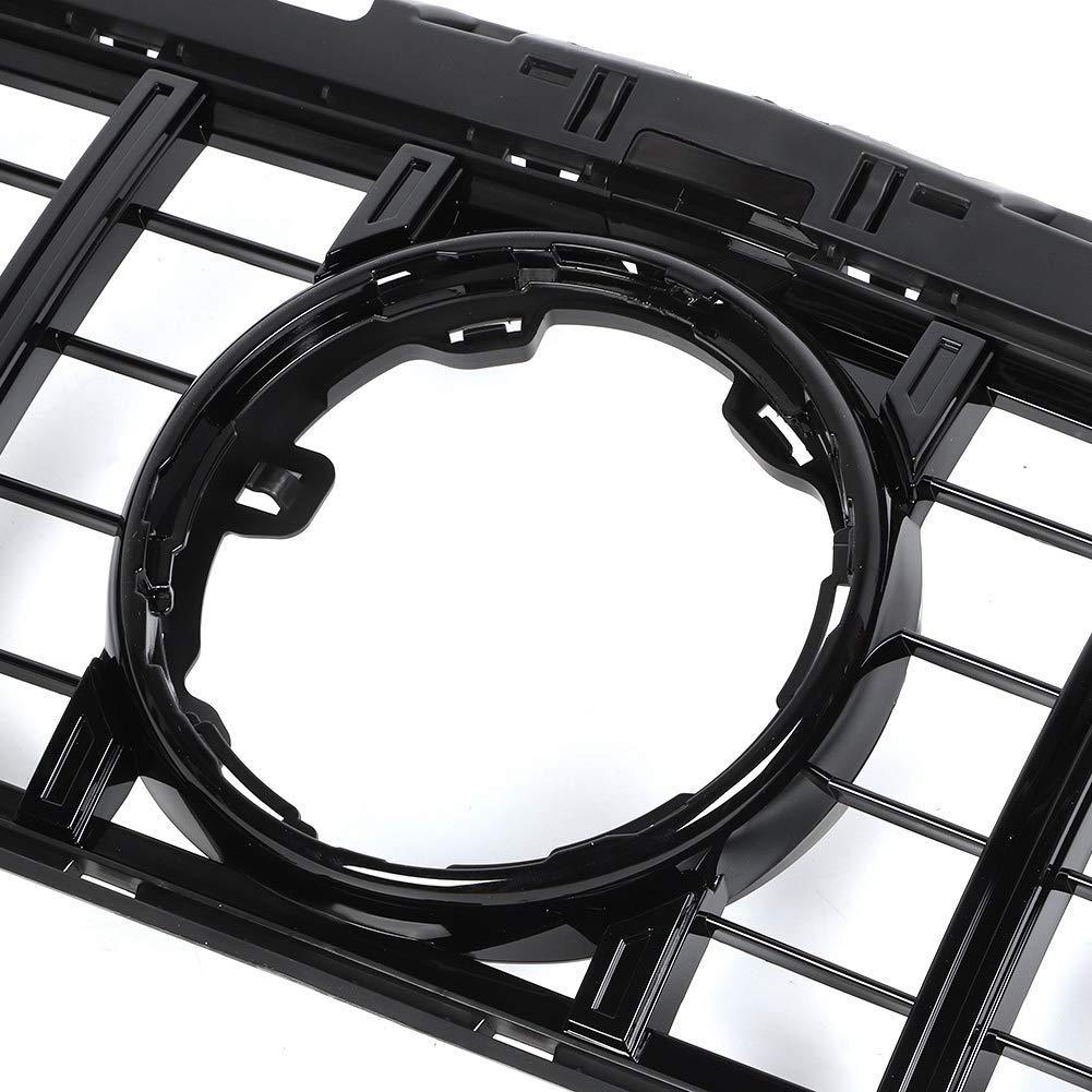Negro Brillante Gorgeri coche ABS delantera de la capilla parachoques parrilla accesorios que se adaptan para la Nueva Clase A W177 2019