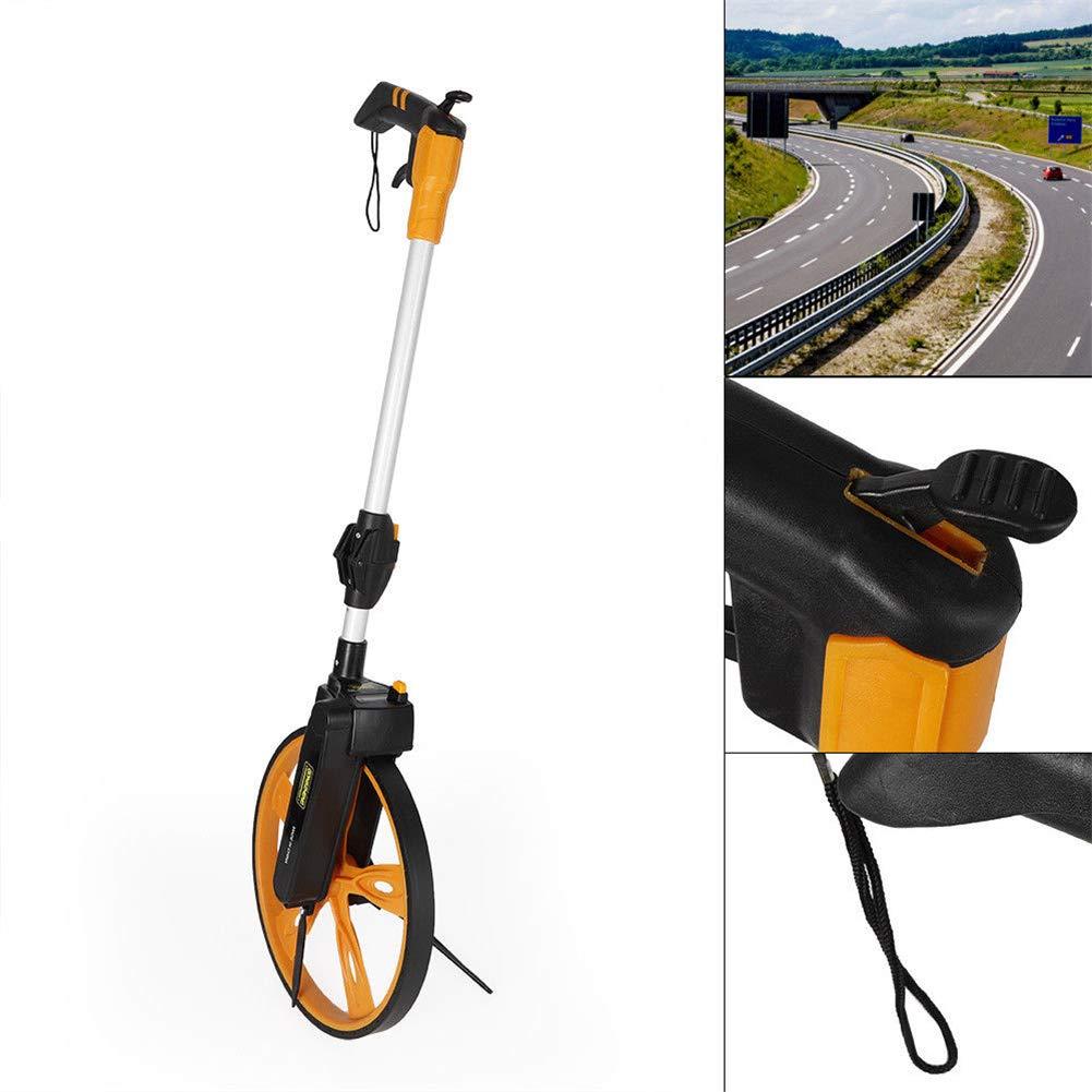 Yiiiby Medidor de distancia digital para medici/ón de precisi/ón de carreteras