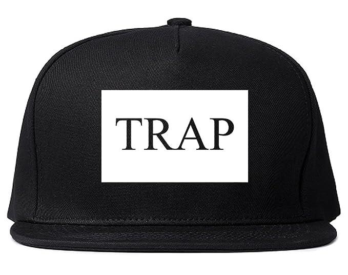 Amazon.com  Kings Of NY Trap Hood Dope Cool Box Logo NYC Snapback ... 9640008b74a