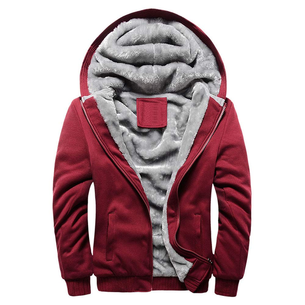 minRan Big Promotion Men's Pullover Winter Jackets Hooed Fleece Hoodies Sweatshirt Wool Warm Thick Coats Dressin Dressin105