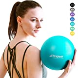 Trideer Pilates Ball, Barre Ball, Mini Exercise Ball, 9 Inch Small Bender Ball, Pilates, Yoga, Core Training and Physical The