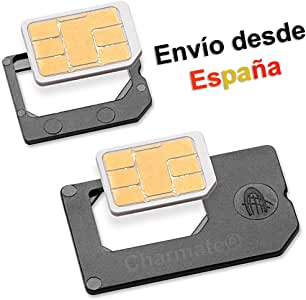 Nano SIM Adaptador SET - PRIMERA CALIDAD: Amazon.es: Electrónica